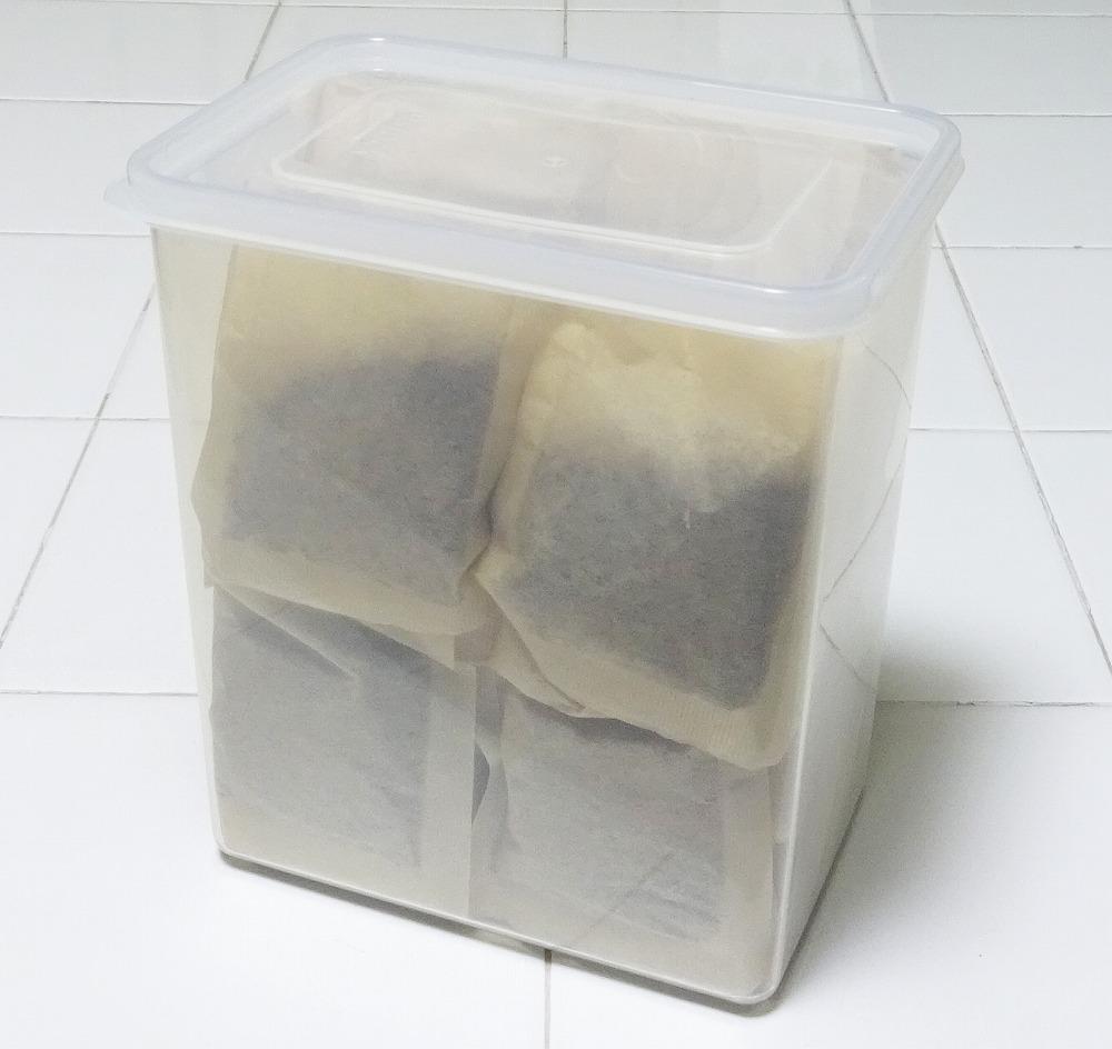 麦茶 パック 保存
